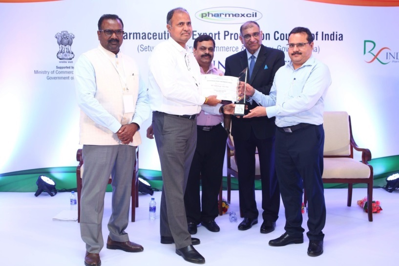 Pharmaexcil Outstanding Exports Award 2017-2018
